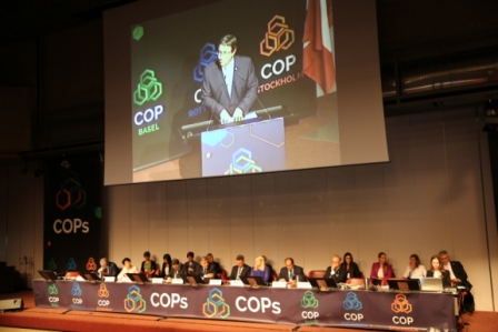 Agenda for the Rotterdam Convention's COP-9 is online in 6 UN languages